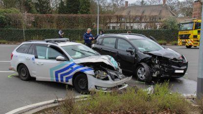 Politiewagen betrokken bij ongeval in Brasschaat