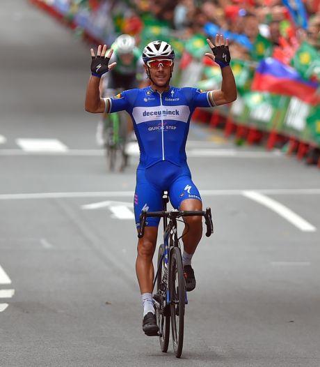 Gilbert succesvol vanuit vroege vlucht in zware rit door Baskenland