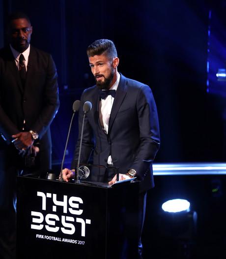 Wereldgoal Olivier Giroud goed voor Puskás-award