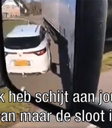 Politie zoekt asociale Brabantse trucker van video die viral ging