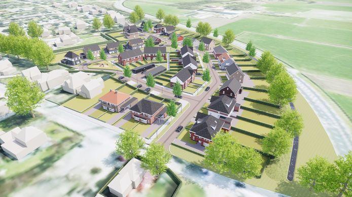 Zo komt de nieuwe wijk De Esch er uit te zien.