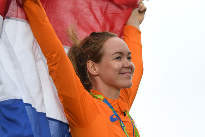 Anna van der Breggen, de laatste Sportvrouw van het Jaar in Zwolle, in 2016.