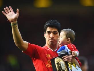 Luis Suárez bedankt fans op Facebook