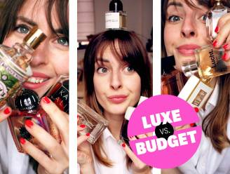 """Luxe versus budget: Beautyredactrice Sophie vergelijkt dure en goedkope parfums. """"Voor zo'n verslavende geur tel ik wel een rib uit mijn lijf neer"""""""
