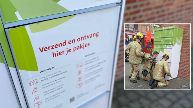 Brandweer moet jongen (11) uit locker van Bpost bevrijden