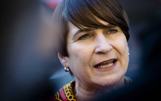 Minister Lilianne Ploumen voor Buitenlandse Handel en Ontwikkelingssamenwerking.