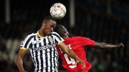 Twee goals Amary Baby volstaan niet voor Charleroi tegen Eupen