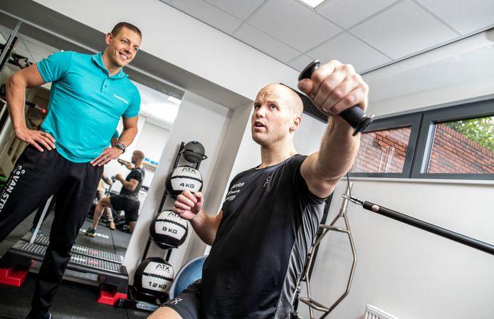 Timothy Petersen (35) viel de afgelopen periode ruim 8 kilo af om in een andere gewichtsklasse uit te kunnen komen.