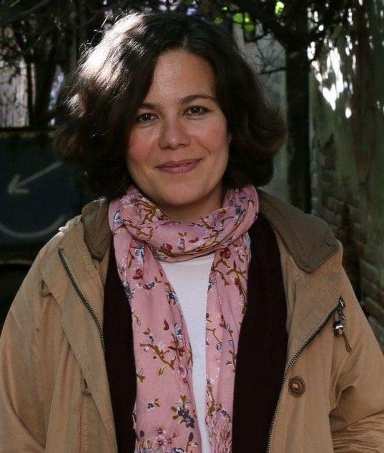 De Turkse journaliste Tuba Güven is gevlucht naar Griekenland. Beeld RV
