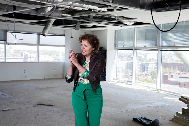 Ingrid Thijssen, voorzitter van werkgeversorganisatie VNO-NCW: 'De drama's op de ic's afwegen tegen de pijn van ondernemers: dat heb ik heel ingewikkeld gevonden'.