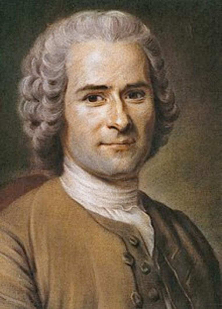 De Franse filosoof Jean-Jacques Rousseau poneerde het beeld van het kind als onschuldig wezen. Beeld