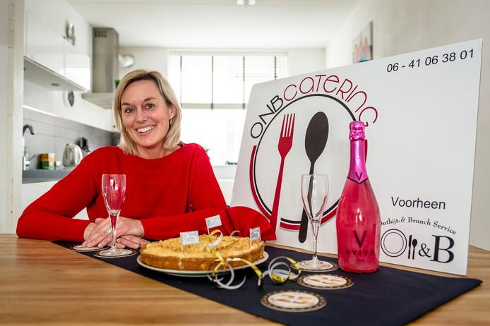 Xandra Filé-Vegter viert het 25-jarig bestaan van haar cateringbedrijf.