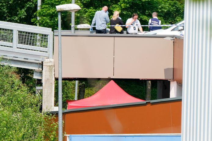Het labo doet onderzoek op de dakparking.