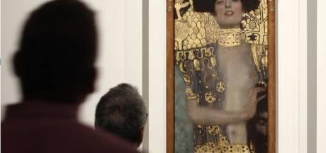 Schilderij Gustav Klimt naar Gemeentemuseum Den Haag