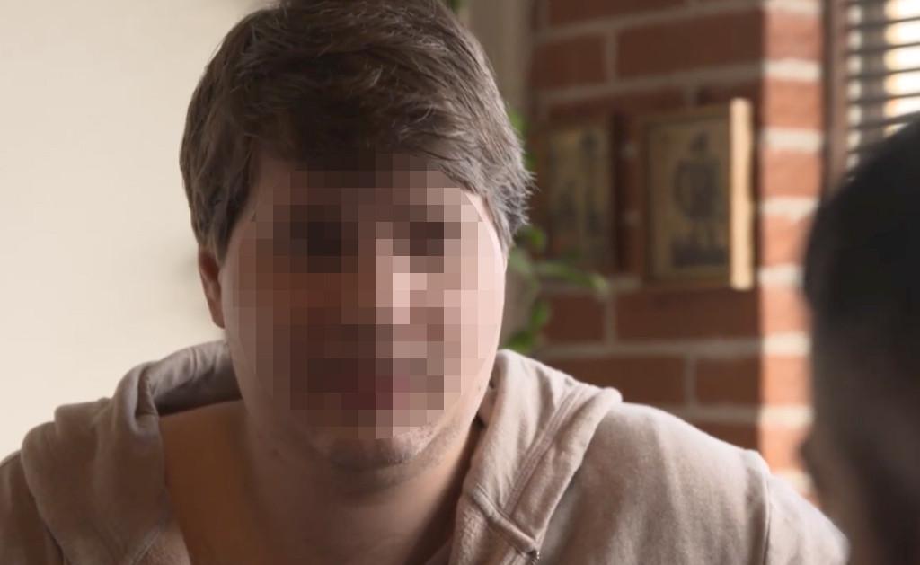 Pedo-activist Nelson M. in het tv-programma van Danny Goossens.