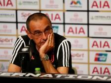 Maurizio Sarri souffre d'une pneumonie