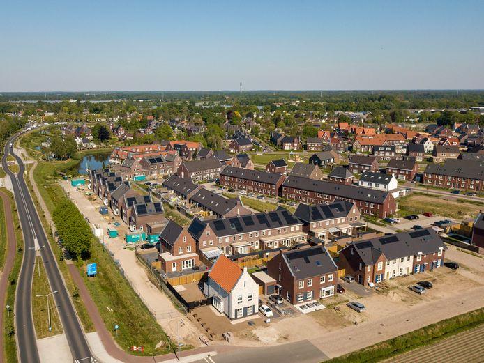 Nieuwbouwijk Beeks Akkers. Laarbeek trekt meer geld uit voor groenonderhoud, nu er zoveel is gebouwd.
