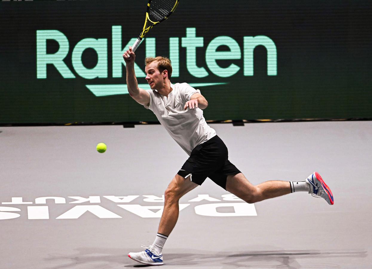 Botic van de Zandschulp heeft zich voor het eerst in zijn carrière geplaatst voor een Grand Slam.