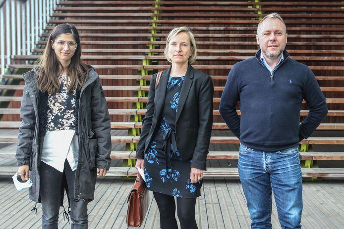 Wetsdokter Werner Jacobs en zijn collega's gaven gisteren hun professionele kijk  op de doodsoorzaak van Christine Lenaerts en de handelingen die daaraan vooraf gingen.