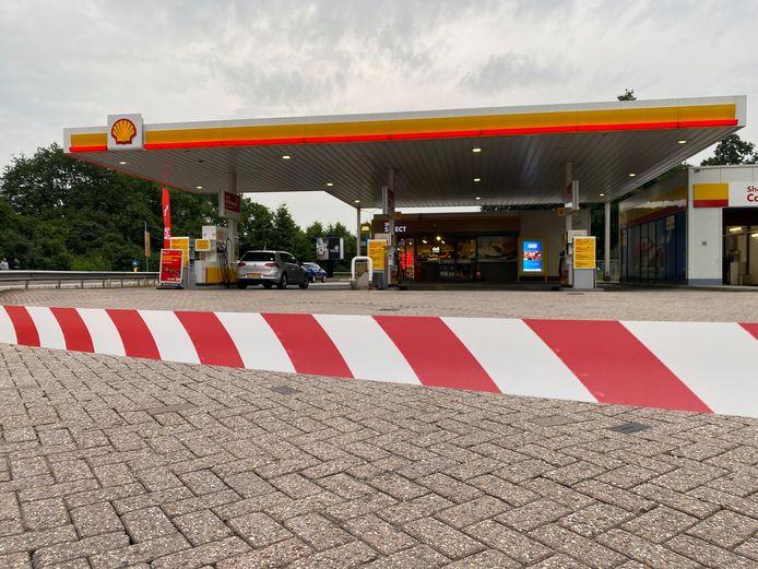 Overval bij Shell-pomp in Harderwijk
