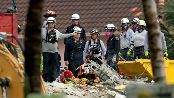 Brandweerman vindt lichaam eigen dochter (7) tussen puin ingestort flatgebouw Miami