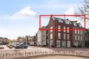 Het penthouse dat in Veghel te koop staat voor 21 bitcoins bevindt zich in het rood gearceerde deel.