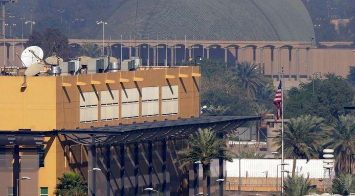 L'ambassade américaine à Bagdad (archives).