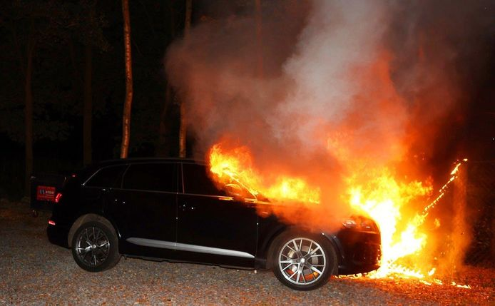 Autobrand in Helvoirt.