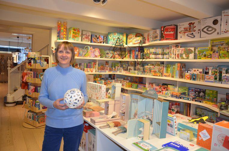 Sibylle Hauwelaert biedt in Sublim Shop een kwaliteitsvol en origineel assortiment aan speelgoed aan.