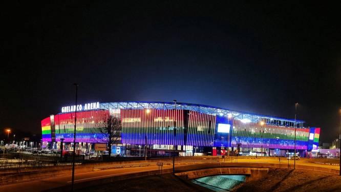 Ghelamco in regenboogkleuren. Massale steunbetuigingen na fatale gaybashing in Beveren