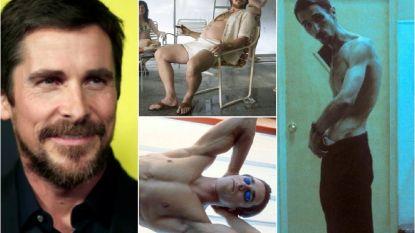 """IN BEELD. Alle extreme transformaties die Christian Bale onderging voor een rol: """"Ik kan dit mijn lichaam niet blijven aandoen"""""""