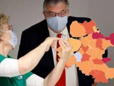 KAART | Nunspeet gunstige uitschieter in dagelijkse coronacijfers, veel besmettingen in Staphorst