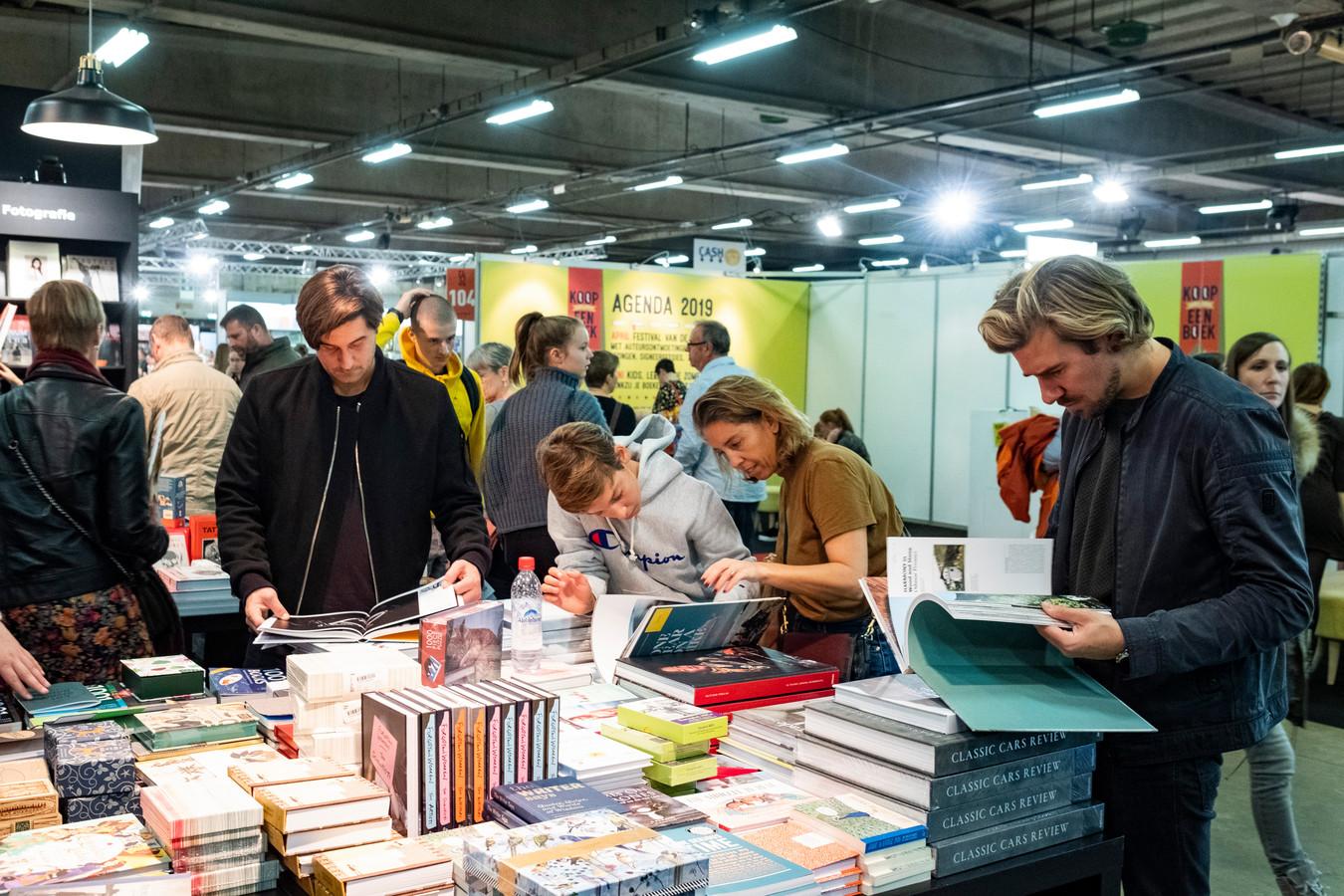 illustratiebeeld, op de Antwerpse boekenbeurs in 2018