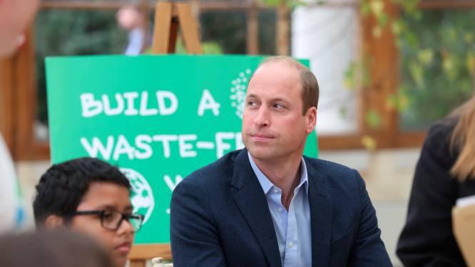 Prins William haalt uit: miljardairs moeten aarde redden, geen ruimterace houden