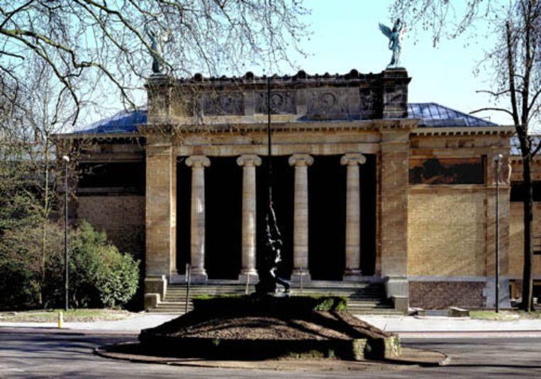 Het Museum voor Schone Kunsten in Gent. Beeld
