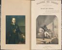 De titelpagina van Slaven en vrijen onder de Nederlandsche wet (rechts) zoals die in 1854 werd uitgebracht. . Links Wolter Robert baron van Hoëvell.