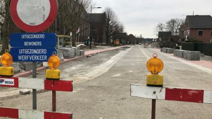 Werkzaamheden op kruispunt Gemeenteplein en Edward Verheyestraat