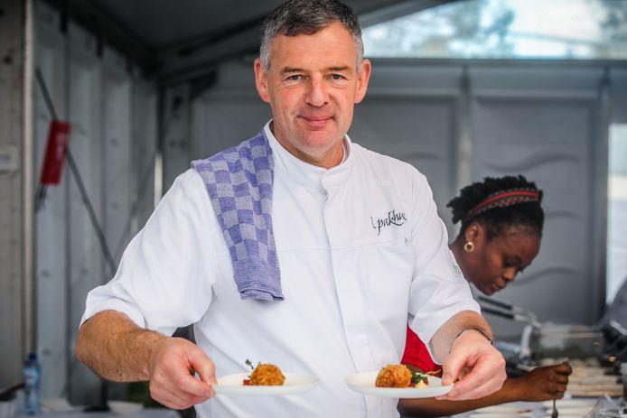 Brugge kookeet: 't pakhuis Patrick Derudder: garnaalkroket, gekonfijte tomaat, gefrituurde peterselie