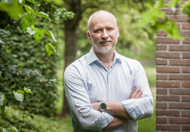 Erwin Blomsma, CEO van het Leuvense biofarmaceutisch bedrijf ViroVet Beeld RV/Christophe Vander Eecken