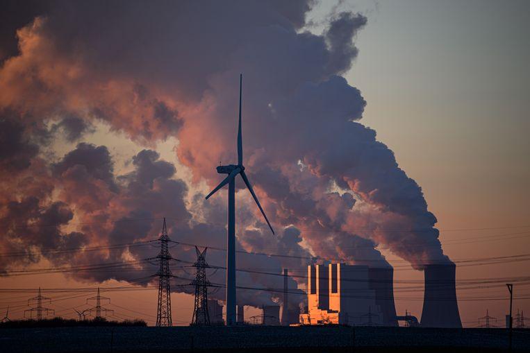 De 55 procent kooldioxidereductie die de EU nu heeft afgesproken, blijft ver achter bij de 65 procent die volgens de wetenschap nodig is. Beeld Getty Images