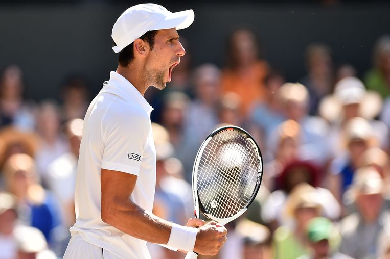 Novak Djokovic Beeld AFP