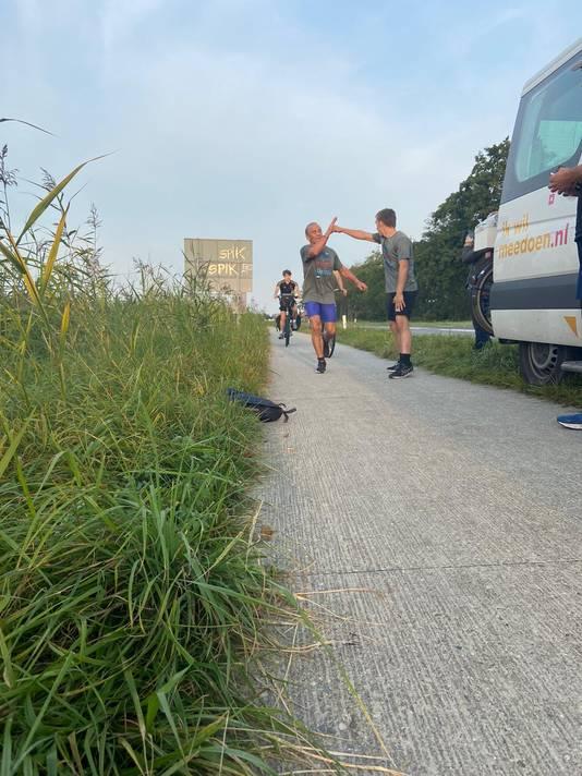 De social run deed zaterdag Breda aan.