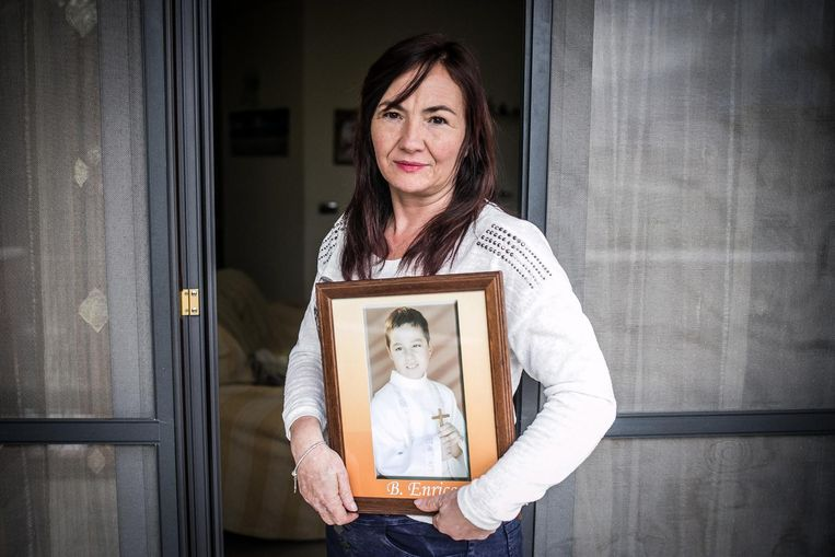Loredana Barrisciano verloor haar zoon aan een hersentumor. Beeld Nicola Zolin