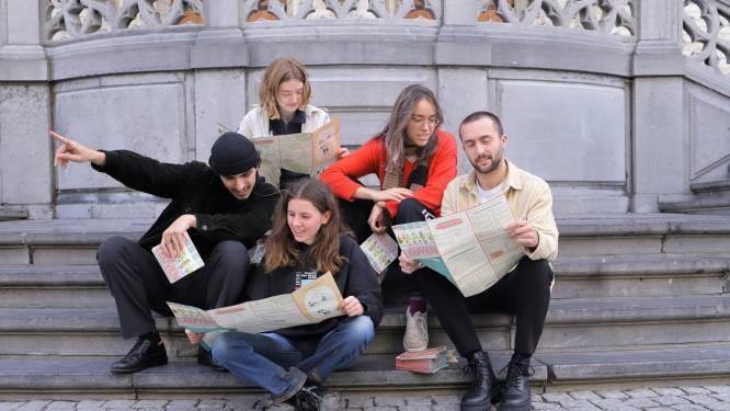 """Leuvense jongeren maken toeristische gids voor jonge bezoekers: """"Het gaf me moed om in volle lockdown te schrijven over leuke cafés en restaurants"""""""