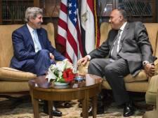 John Kerry en visite surprise en Egypte