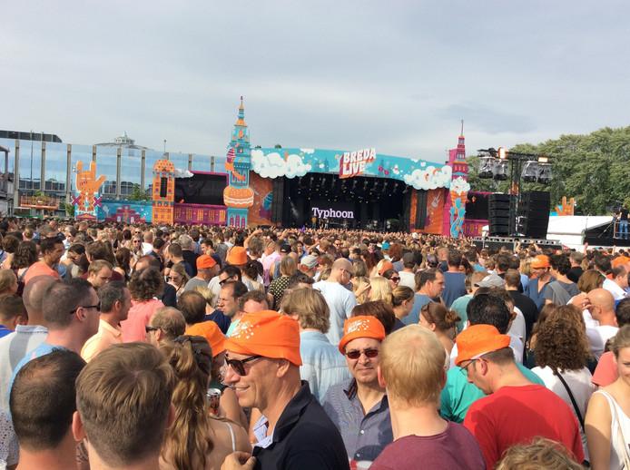 Typhoon op Breda Live.