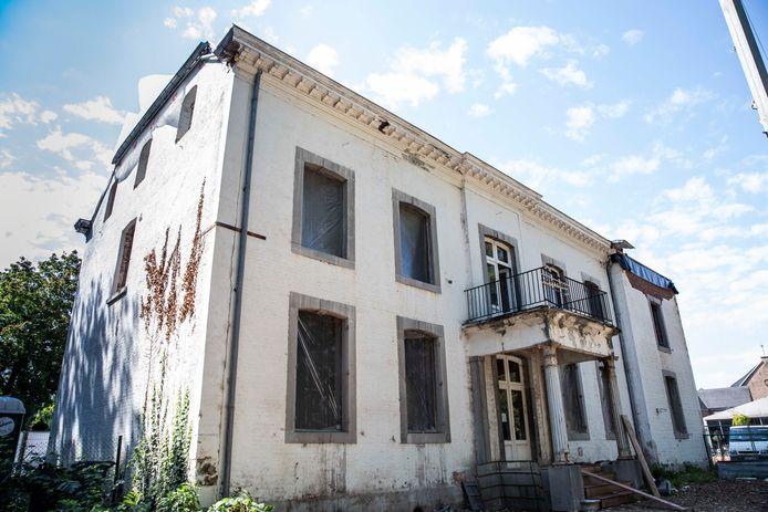 Renovatie Kasteel Edelhof te Bilzen.