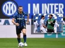 Stefan de Vrij pakt met Inter titel in Serie A na misstap Atalanta