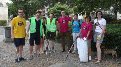 JCI plant zwerfvuilactie als promo voor World Cleanup Day