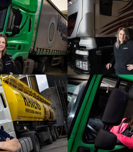 Meiden die rijden staan opeens in de belangstelling: 'Dit is meer dan een mannenwereld'